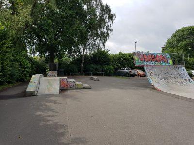 Skatepark Kleve an der van-den-Bergh-Straße