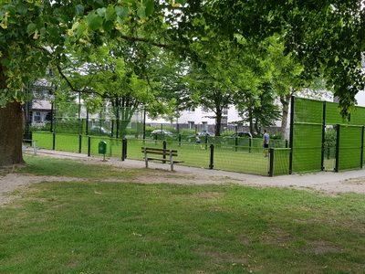 Soccer-Plätze in Kleve (hier: Küpperstraße)